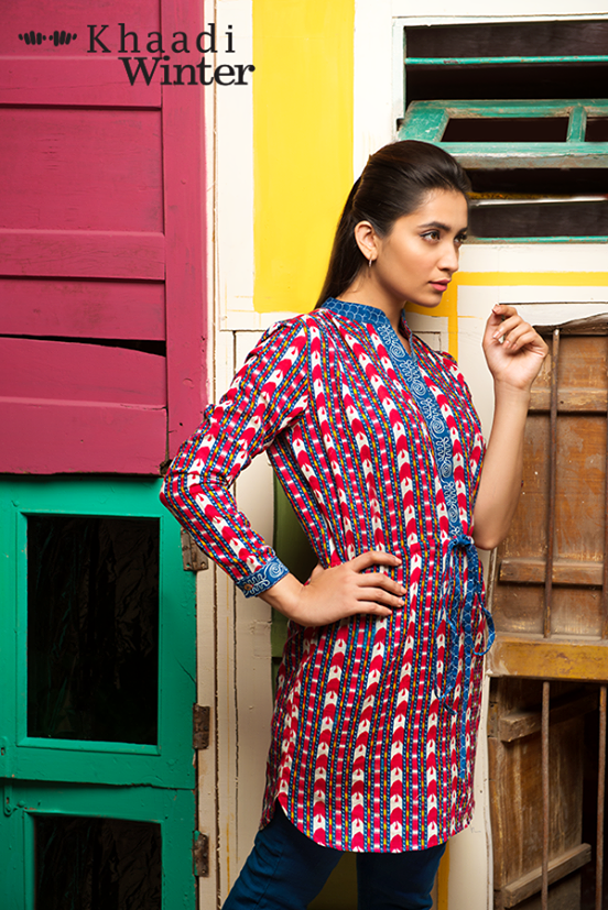 Khaadi Winter Collection 2015 Frenzy of Patterns (10)