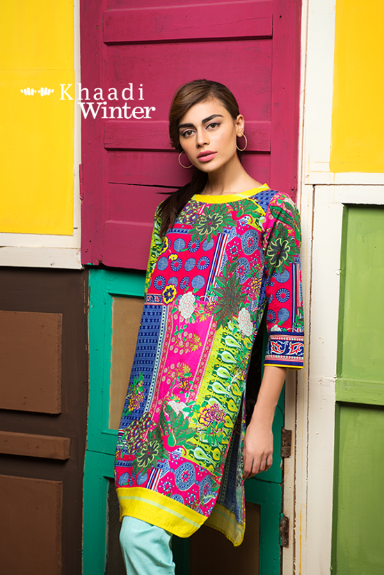 Khaadi Winter Collection 2015 Frenzy of Patterns (11)