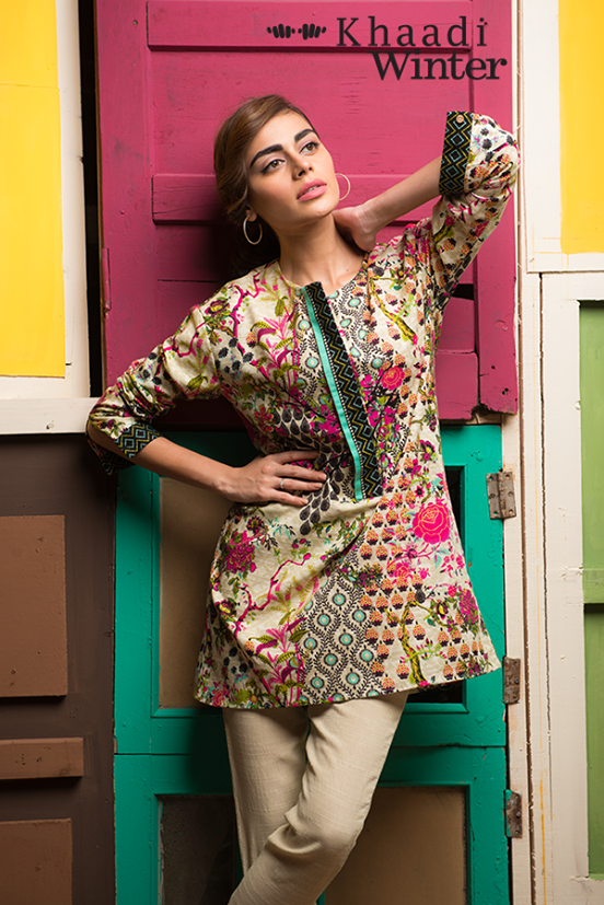 Khaadi Winter Collection 2015 Frenzy of Patterns (12)