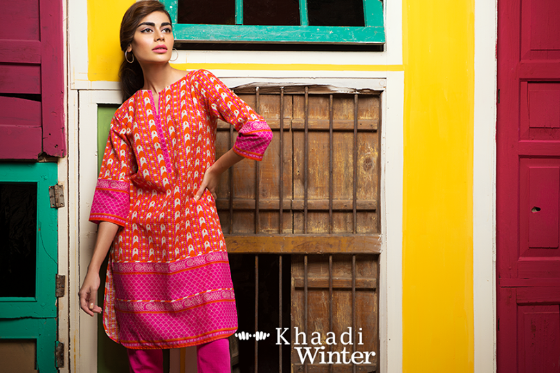 Khaadi Winter Collection 2015 Frenzy of Patterns (15)