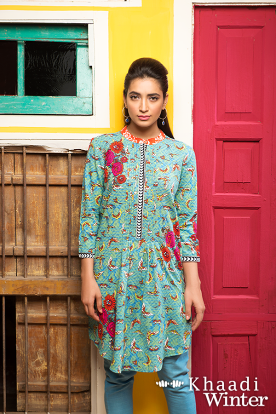 Khaadi Winter Collection 2015 Frenzy of Patterns (16)