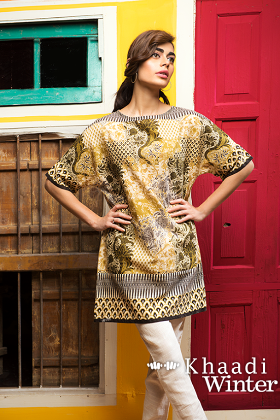 Khaadi Winter Collection 2015 Frenzy of Patterns (2)