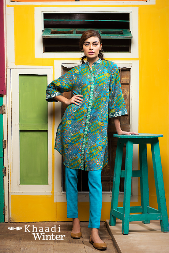 Khaadi Winter Collection 2015 Frenzy of Patterns (3)