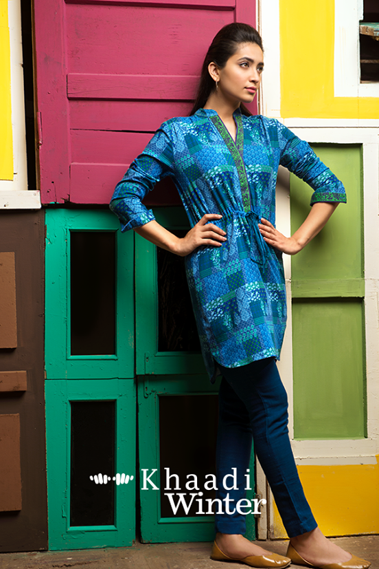 Khaadi Winter Collection 2015 Frenzy of Patterns (4)