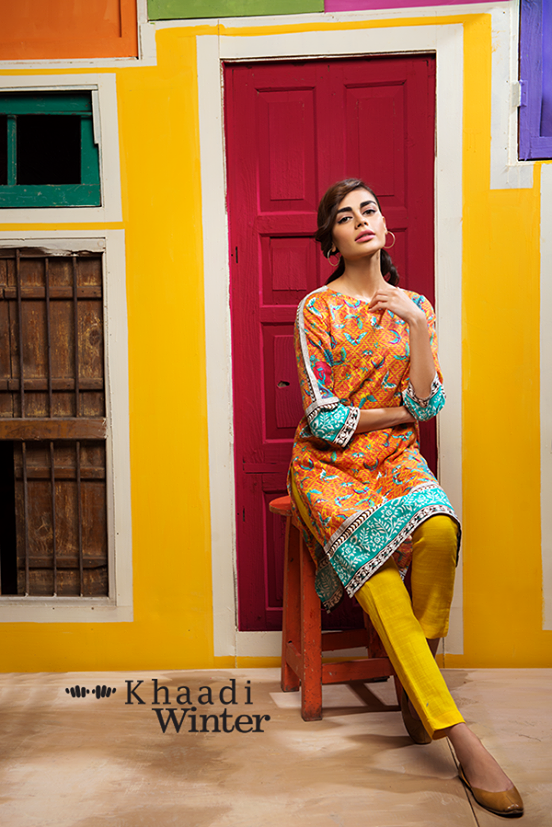 Khaadi Winter Collection 2015 Frenzy of Patterns (5)