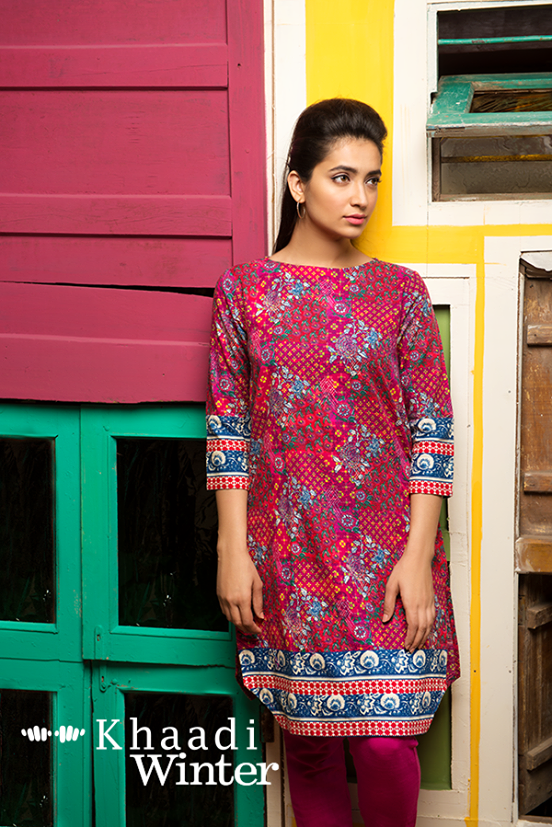 Khaadi Winter Collection 2015 Frenzy of Patterns (6)