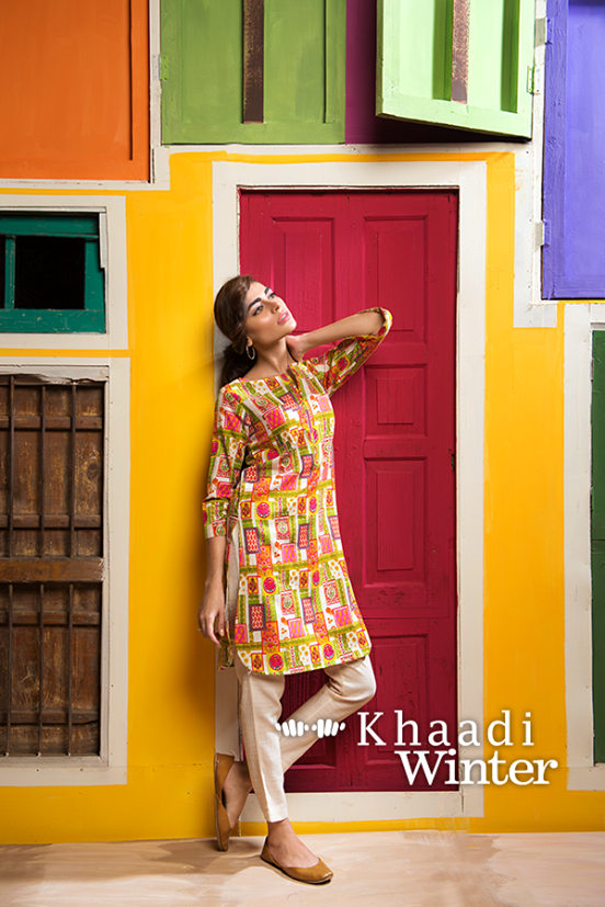 Khaadi Winter Collection 2015 Frenzy of Patterns (7)