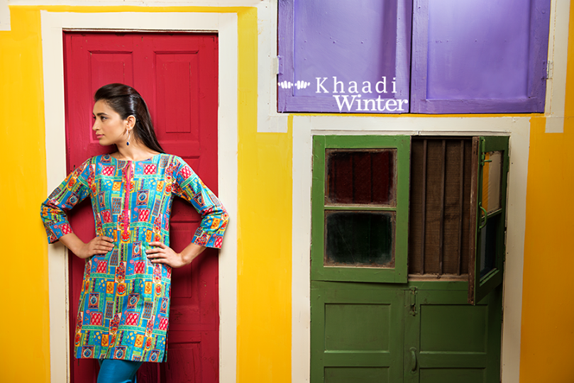 Khaadi Winter Collection 2015 Frenzy of Patterns (9)