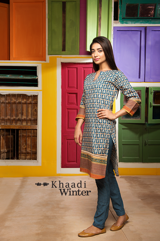 Khaadi Winter Collection 2015- Frolicking in Florals (1)