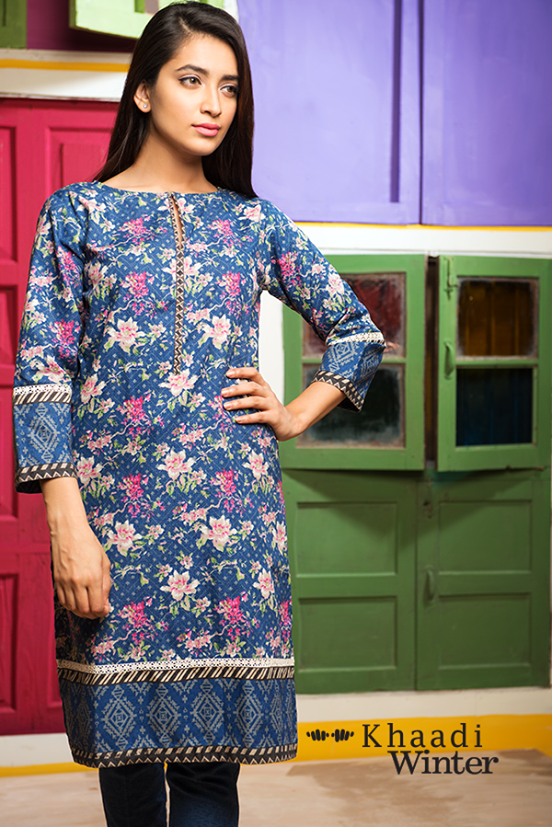 Khaadi Winter Collection 2015- Frolicking in Florals (2)