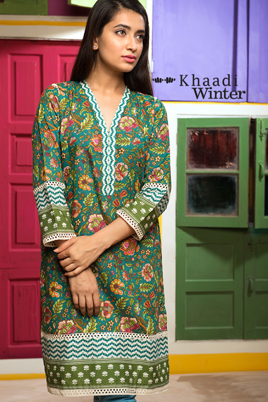 Khaadi Winter Collection 2015- Frolicking in Florals (4)