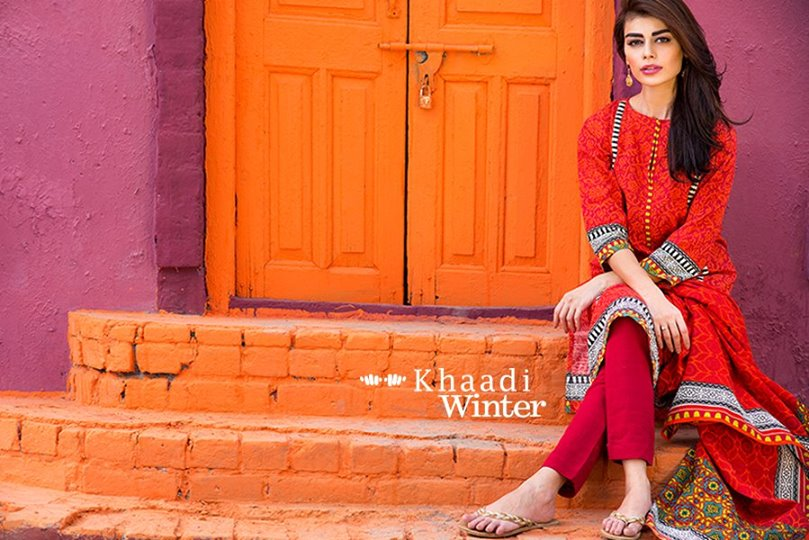 Khaadi Winter Collection 2015- Prints of Persia (1)