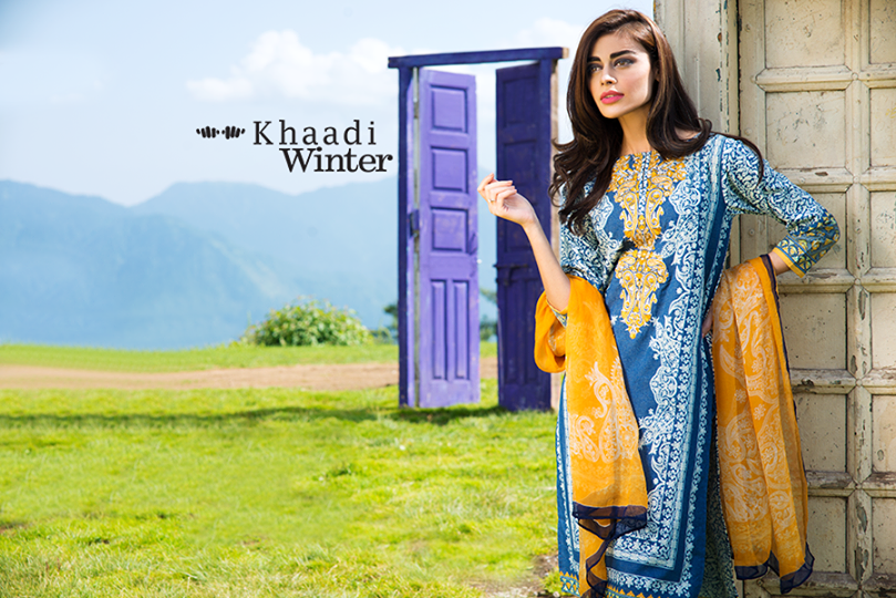 Khaadi Winter Collection-Ode to Flora (1)