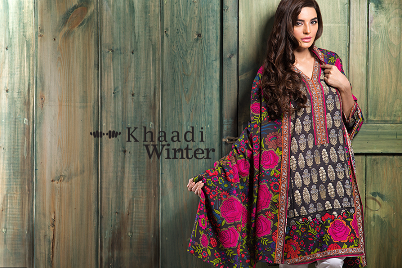 Khaadi winter collection 2015 Looking to our heritage (1)