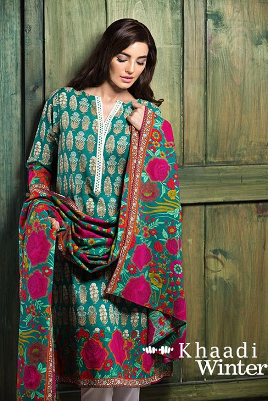 Khaadi winter collection 2015 Looking to our heritage (2)