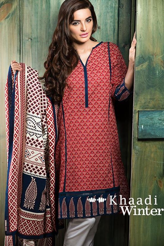 Khaadi winter collection 2015 Looking to our heritage (4)