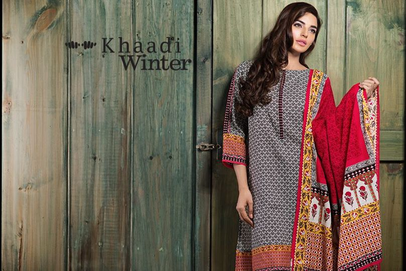 Khaadi winter collection 2015 Looking to our heritage (5)