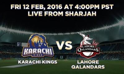 Kings Vs Qalandars.Brandsynario