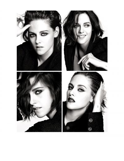 Kristen Stewart channels various attitudes in the new Chanel makeup campaign