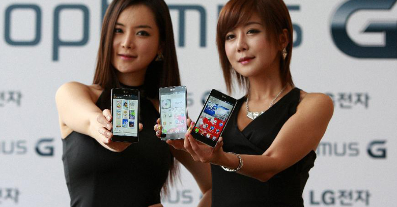 LG launches Optimus G ProPhablet in Asia
