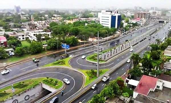 Lahore is Less Crowded