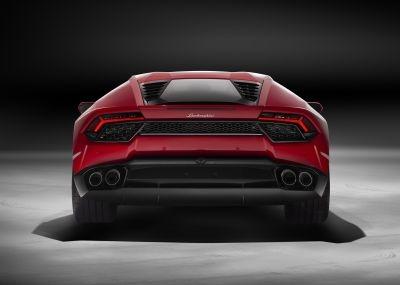 Lamborghini Huracán LP 580-2 Back