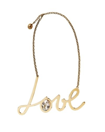 Lanvin ICONIC LOVE NECKLACE