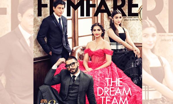 Filmfare cover magazine