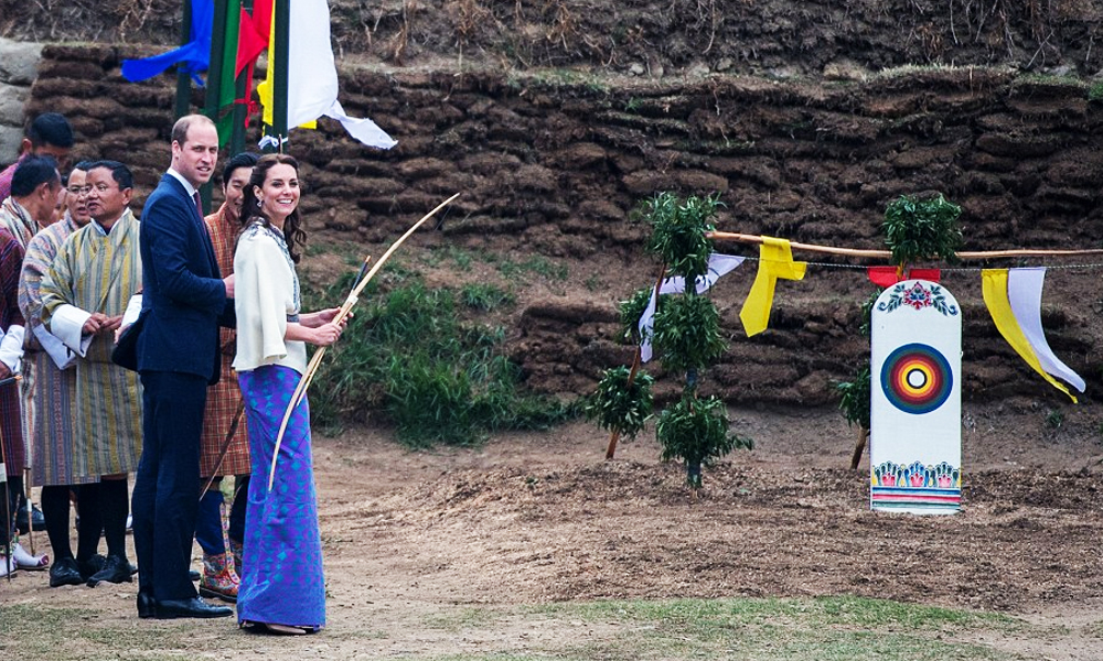 Kate-and-William in Bhutan