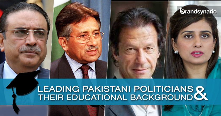 Leading Pakistani Politicians and their Educational Backgrounds