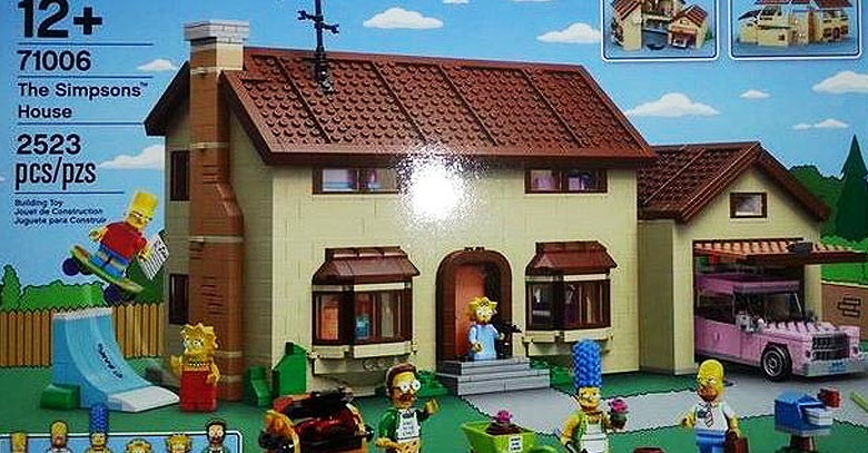 Lego and The Simpsons Come Together After 25 Years