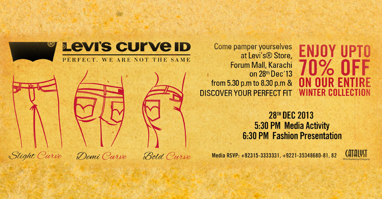 Levis Curve ID Event Offers Upto 70 Discount