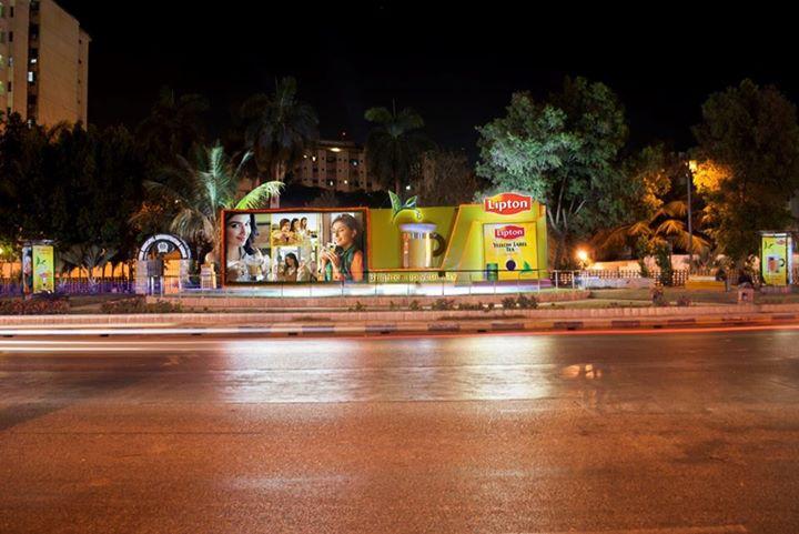Lipton Creative OOH Campaign 2014 Karachi Pakistan