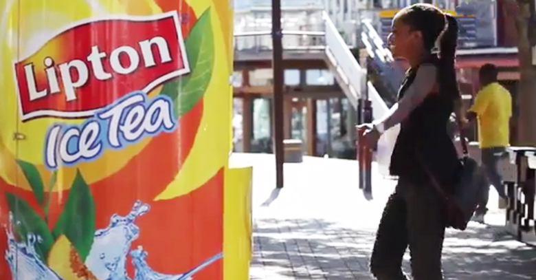 Lipton organizes outdoor marketing campaign to promote its Iced Tea
