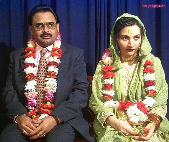 MQM Leader Altaf Hussain Marriage With 17 Year Girls - Useen Pictures (1)