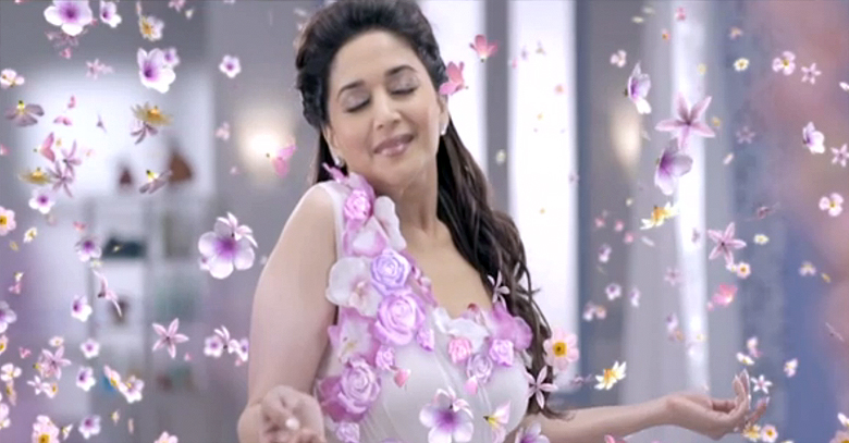 Madhuri Dixit works her magic in Dabur's Odonil