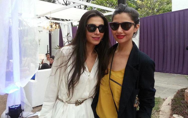 Mahira Khan and Feeha Jamshed
