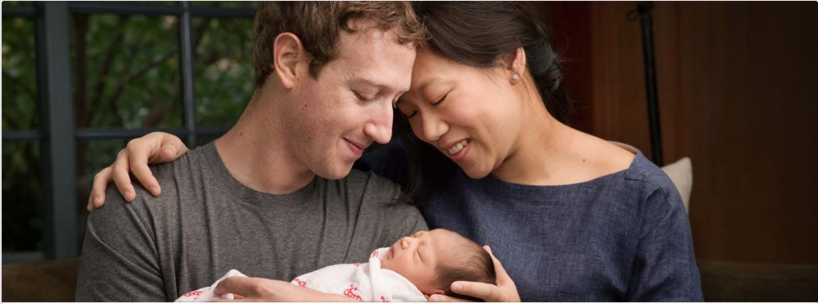 Mark Zuckerberg, Priscilla and Max