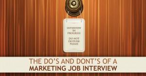 Marketing Jobs Interview