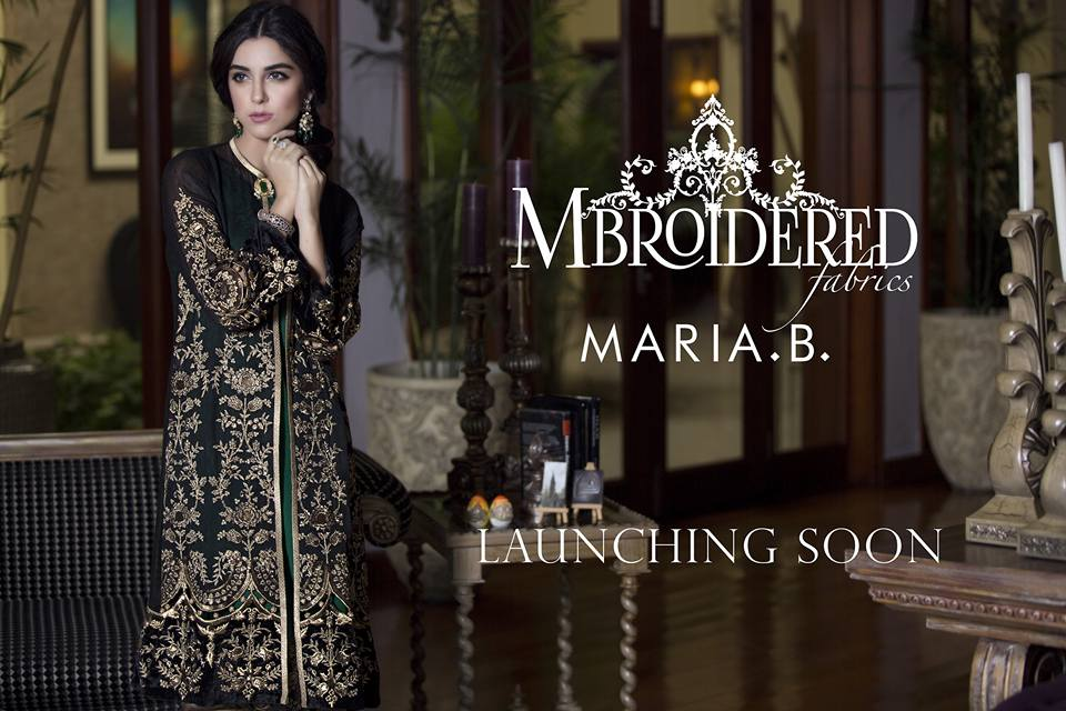 Maya Ali for MARIA.B New Collection
