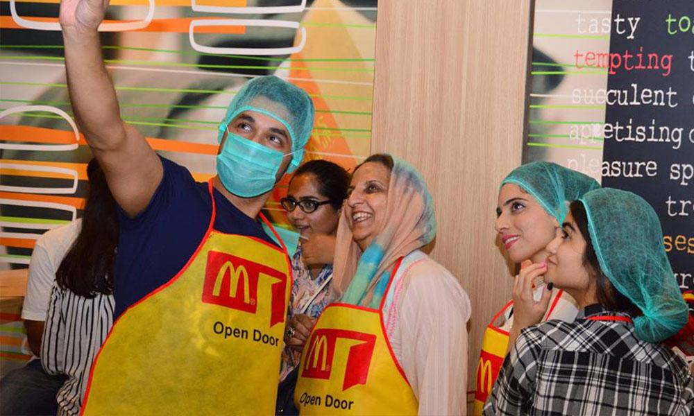 McDonald's Open Door 4