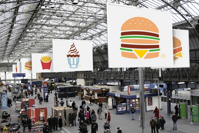 McDonalds Presents the Simplest Ads Ever - No Branding