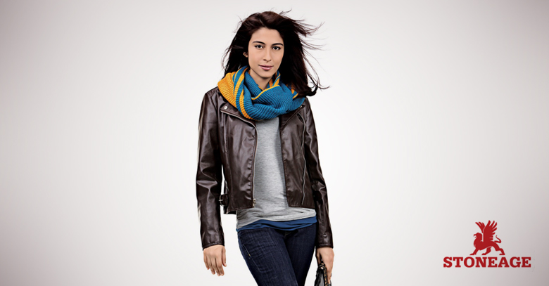 Meesha Shafi Features in StoneAge Winter Collection 2013