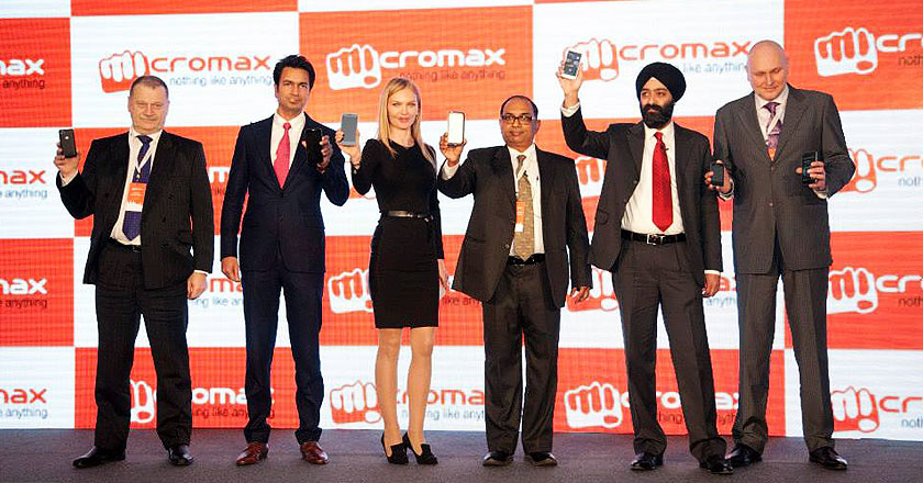 MicroMax QMobiles Indian Twin Launches in Russia