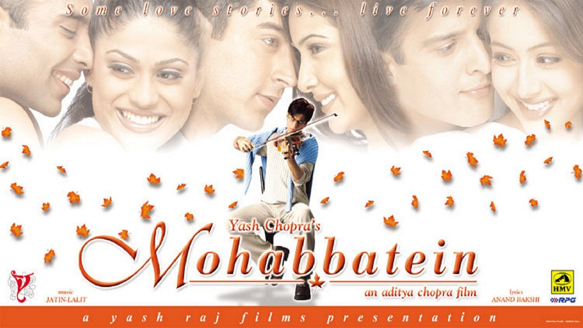 Mohabbatain poster