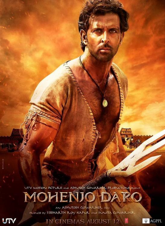 Mohenjodaro movie poster