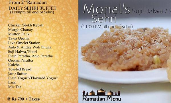 Best Sehri Deals in Lahore for Ramadan 2016 - Brandsynario