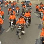 Women Motor Cycle Rally