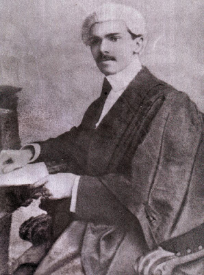 Mr. Jinnah as a young magistrate in Bombay