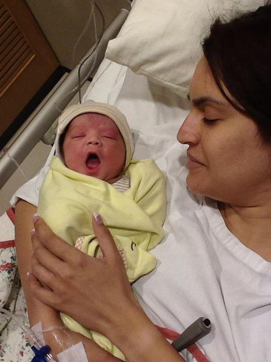Nadia Hussain baby